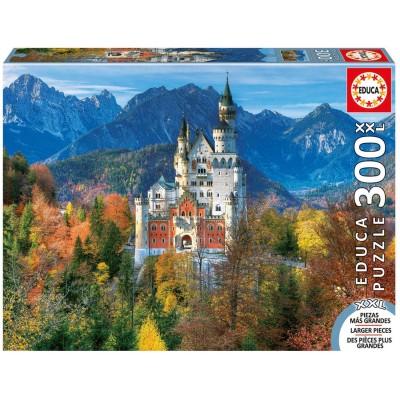 Puzzle  Educa-16744 XXL Teile - Neuschwanstein