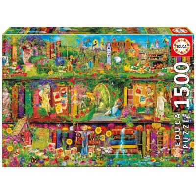 Puzzle  Educa-16766 Aimee Stewart: The Garden Shelf