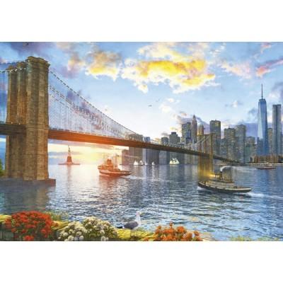 Puzzle  Educa-16782 Dominic Davison: New York Sunset