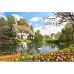 Puzzle  Educa-16784 Dominic Davison: Lakeside Cottage