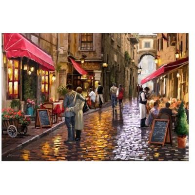 Puzzle  Educa-16788 Café Street