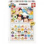 Educa-16862 2 Puzzles - Tsum Tsum