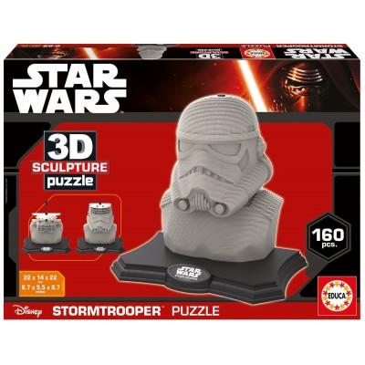 Educa-16969 3D Skulptur Puzzle - Star Wars