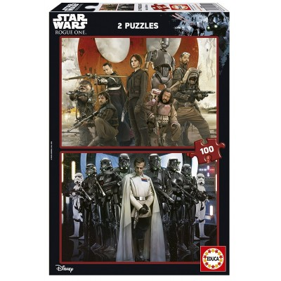 Educa-17012 2 Puzzles - Star Wars