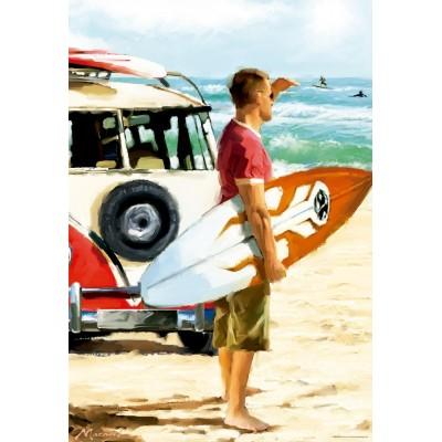 Puzzle Educa-17084 Richard Macneil: Surfer