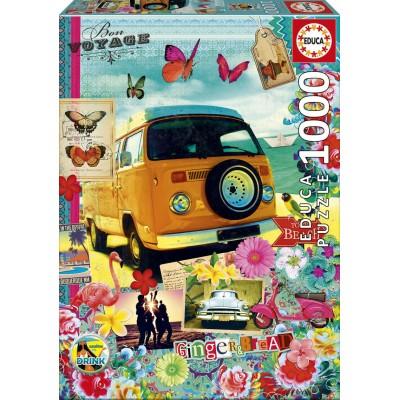 Puzzle  Educa-17103 Bon Voyage