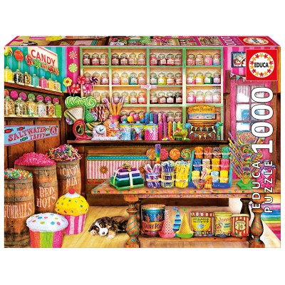 Puzzle  Educa-17104 The Candy Shop
