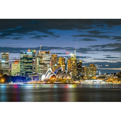 Puzzle  Educa-17106 Sydney City Twilight