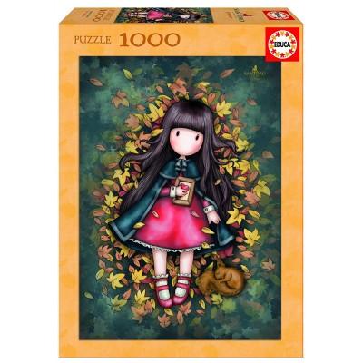Puzzle  Educa-17114 Gorjuss - Autumn Leaves