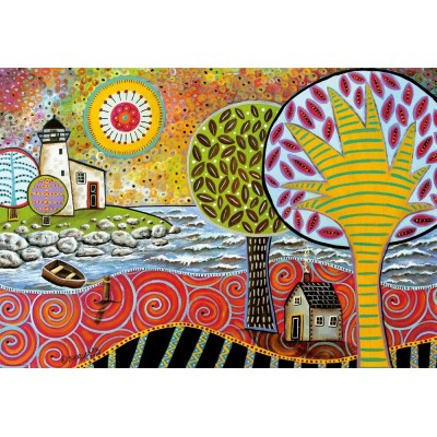 Puzzle  Educa-17115 Lighthouse 1, Karla Gerard