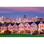 Puzzle  Educa-17119 Painted Ladies, San Francisco