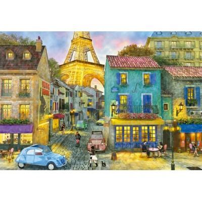Puzzle Educa-17122 Paris Streets, Dominic Davison
