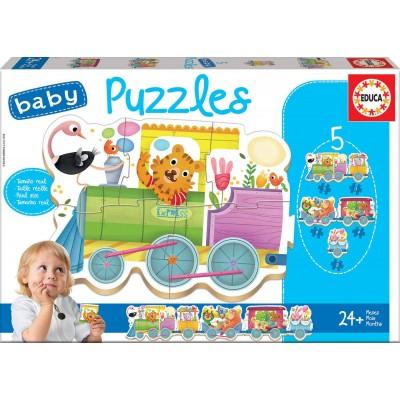 Educa-17142 5 Baby Puzzles