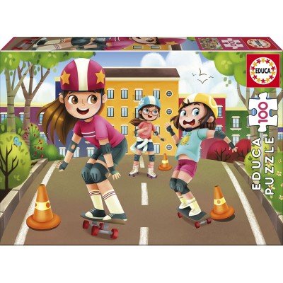 Puzzle  Educa-17152 Skating