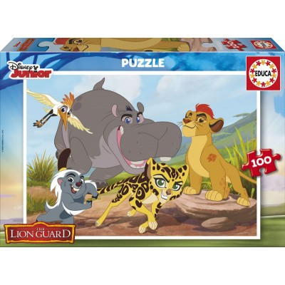 Puzzle Educa-17169 The Lion Guard