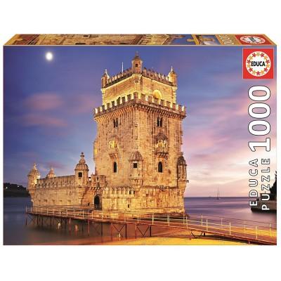 Puzzle  Educa-17195 Torre de Belém, Portugal
