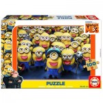 Educa-17233 Holzpuzzle - Minions