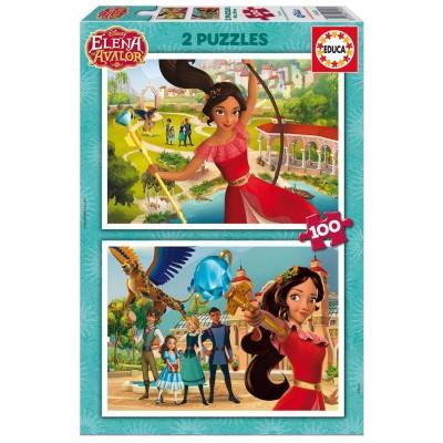 Educa-17402 2 Puzzles - Elena of Avalor