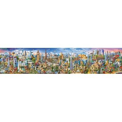 Puzzle  Educa-17570 Die Weltreise