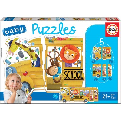 Educa-17575 5 Baby Puzzles