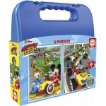 Educa-17640 2 Puzzles - Disney Princess