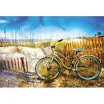Puzzle  Educa-17657 Fahrrad in Den Dünen