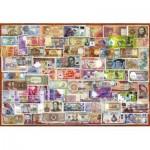Puzzle  Educa-17659 Geldscheine Der Welt