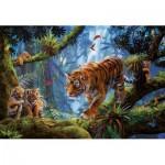 Puzzle  Educa-17662 Tiger Auf Dem Baum