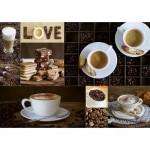 Puzzle  Educa-17663 Kaffee