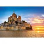 Puzzle  Educa-17665 Mont Saint-Michel, Frankreich