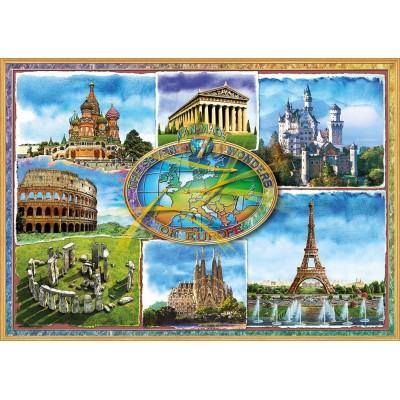 Puzzle  Educa-17667 Sieben Wunder Europas