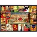 Puzzle  Educa-17676 Opern-Collage