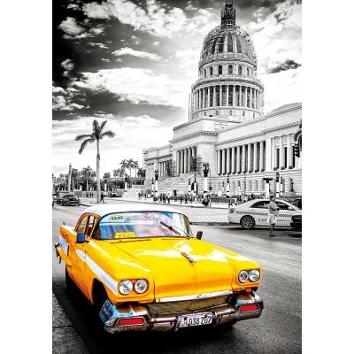 Puzzle  Educa-17690 Taxi in Havanna, Kuba
