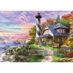 Puzzle  Educa-17740 Leuchtturm in Rock Bay