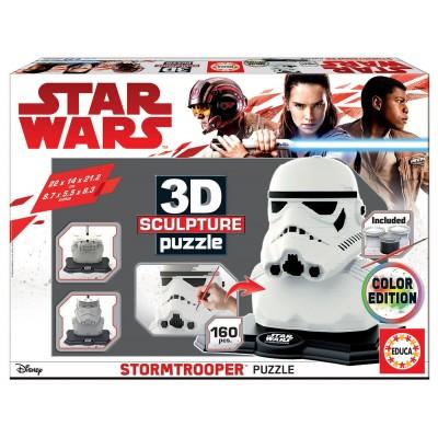 Educa-17803 3D Puzzle Sculpture - Star Wars Storm Trooper