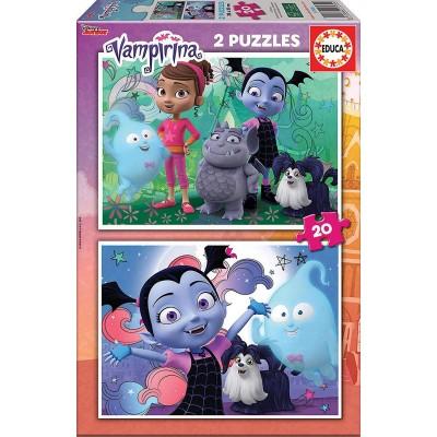 Educa-17939 2 Puzzles - Disney Vampirina