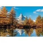 Puzzle  Educa-17973 Matterhorn-Höhe Im Herbst
