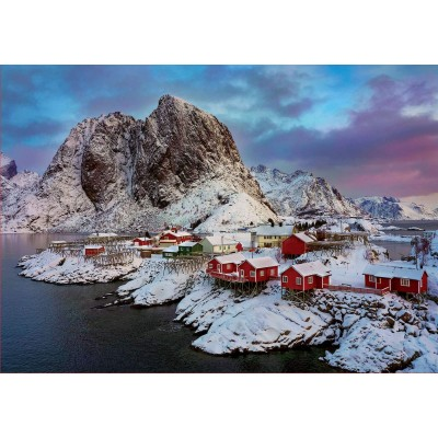 Puzzle  Educa-17976 Lofoten-Inseln, Norwegen