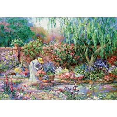 Puzzle  Educa-17981 XXL Teile - Ihr Garten