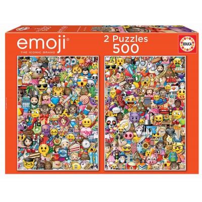 Educa-17992 2 Puzzles - Emoji