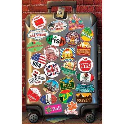 Puzzle  Educa-18002 Liebe zu reisen