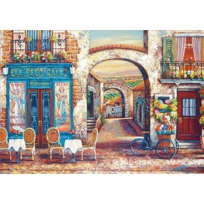 Puzzle  Educa-18014 Le Petit Café