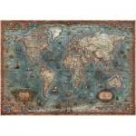 Puzzle  Educa-18017 Antike Weltkarte