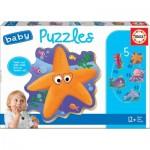 Educa-18058 5 Baby Puzzles