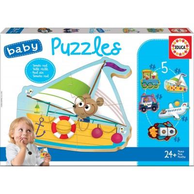 Educa-18059 5 Baby Puzzles
