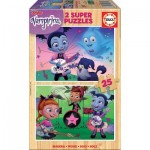 Educa-18081 Holzpuzzle - Disney - Vampirina
