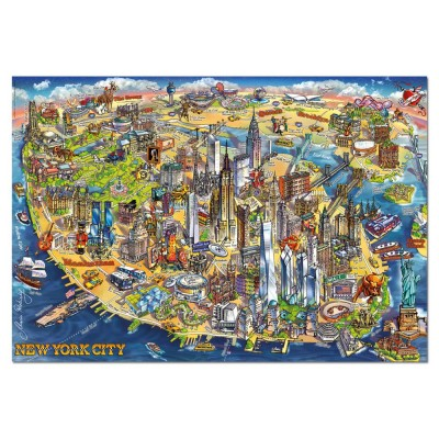 Puzzle  Educa-18453 New York