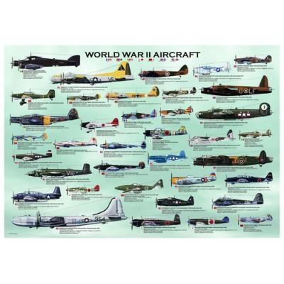 Puzzle  Eurographics-6000-0075 Flugzeuge aus dem 2. Weltkrieg