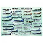 Puzzle  Eurographics-6000-0076 Moderne Flugzeuge