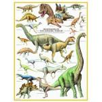 Puzzle  Eurographics-6000-0099 Dinosaurier des Jura